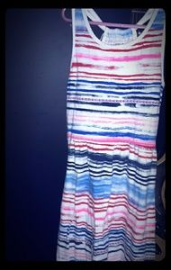 Stripey bright tribal sundress